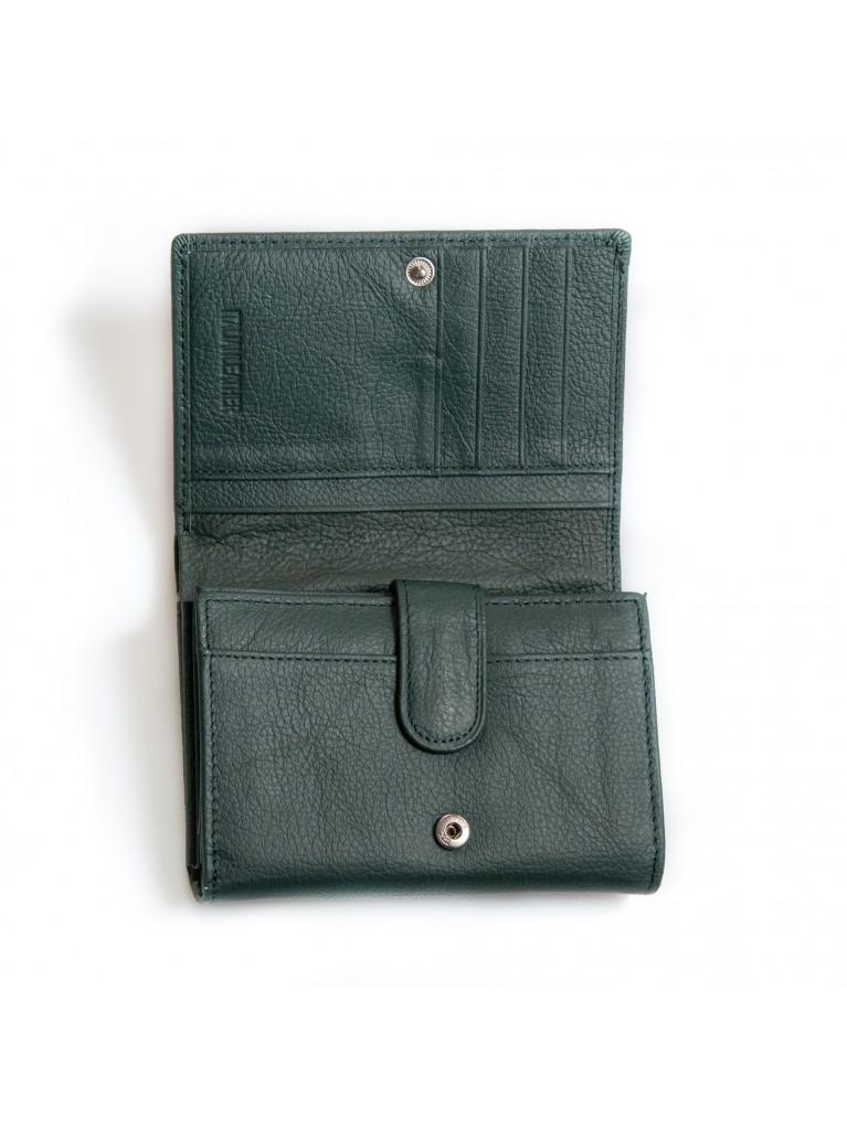 Portofel G065 verde inchis