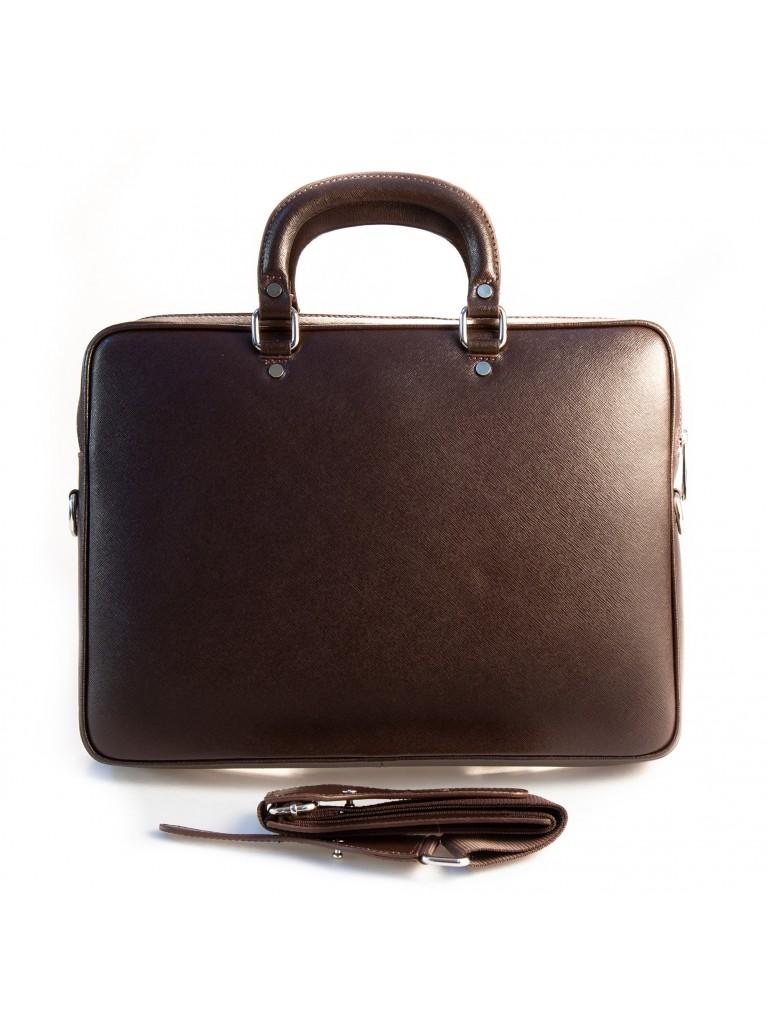 Geanta laptop SL801 maro inchis